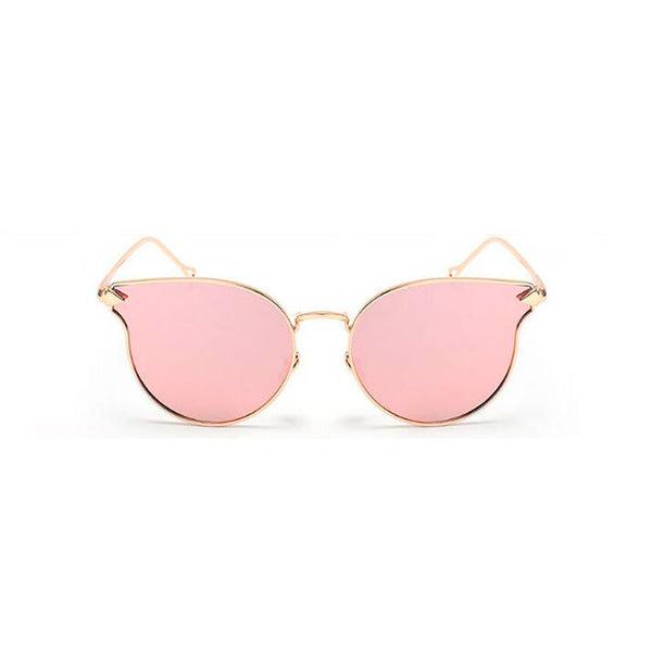Harper Sunglasses - Pink/Gold