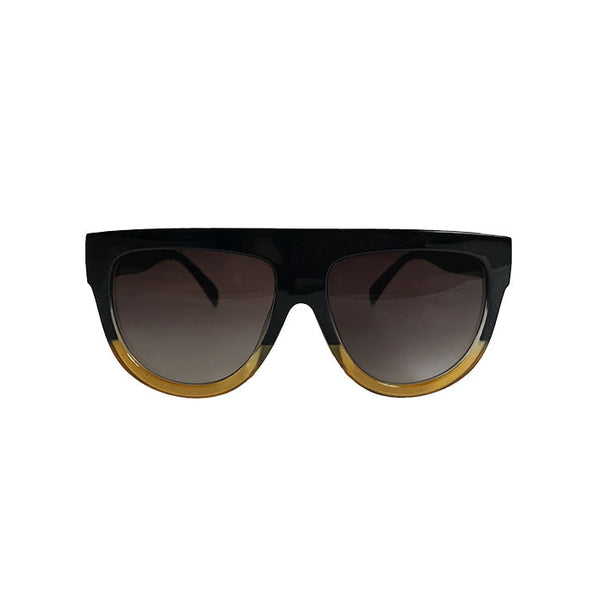 Shelby Sunglasses - Black/Amber