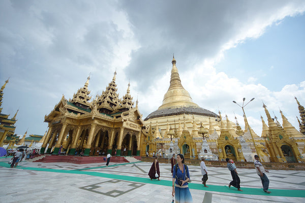 A World Connected by Yoga — Myanmar By Sandra