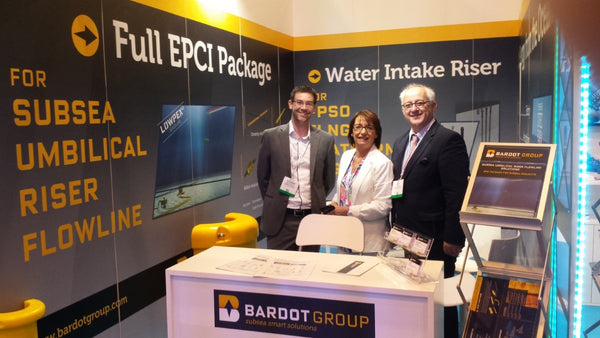We welcome you to BARDOT Group booth 3239C (French Pavilion) at OTC Houston. Introducing this year our Full SURF EPCI Package and OTEC Floating Plant to bring more electric power to any offshore facility.