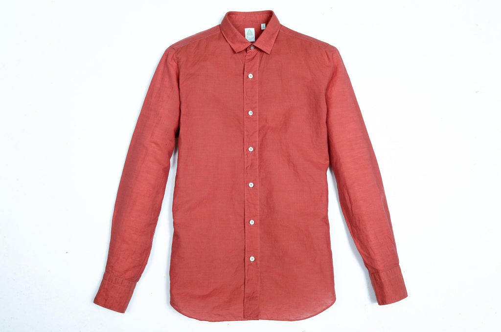 Slim Fit Cotton and Linen Tokyo Shirt