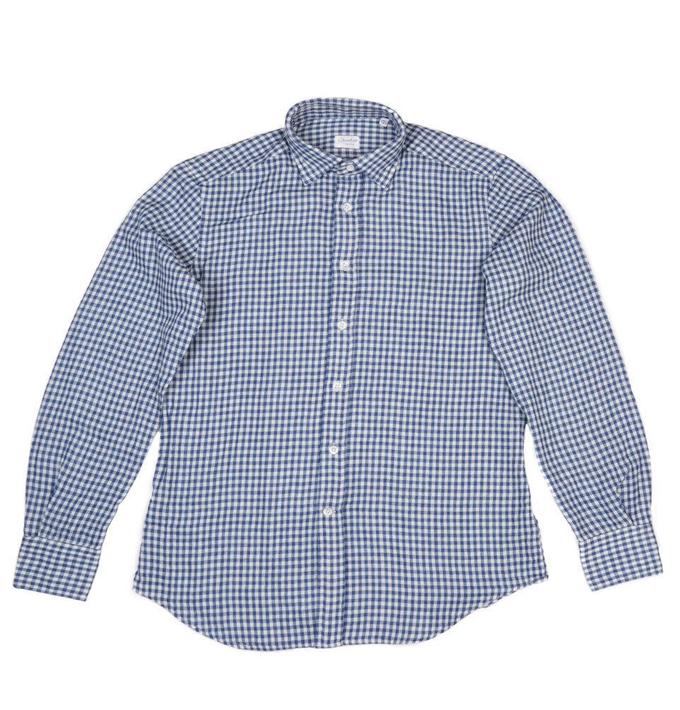 Men Gingham Shirt