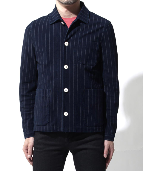 Striped Indigo Jacket
