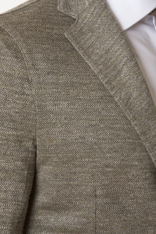 Piquet Linen Jacket
