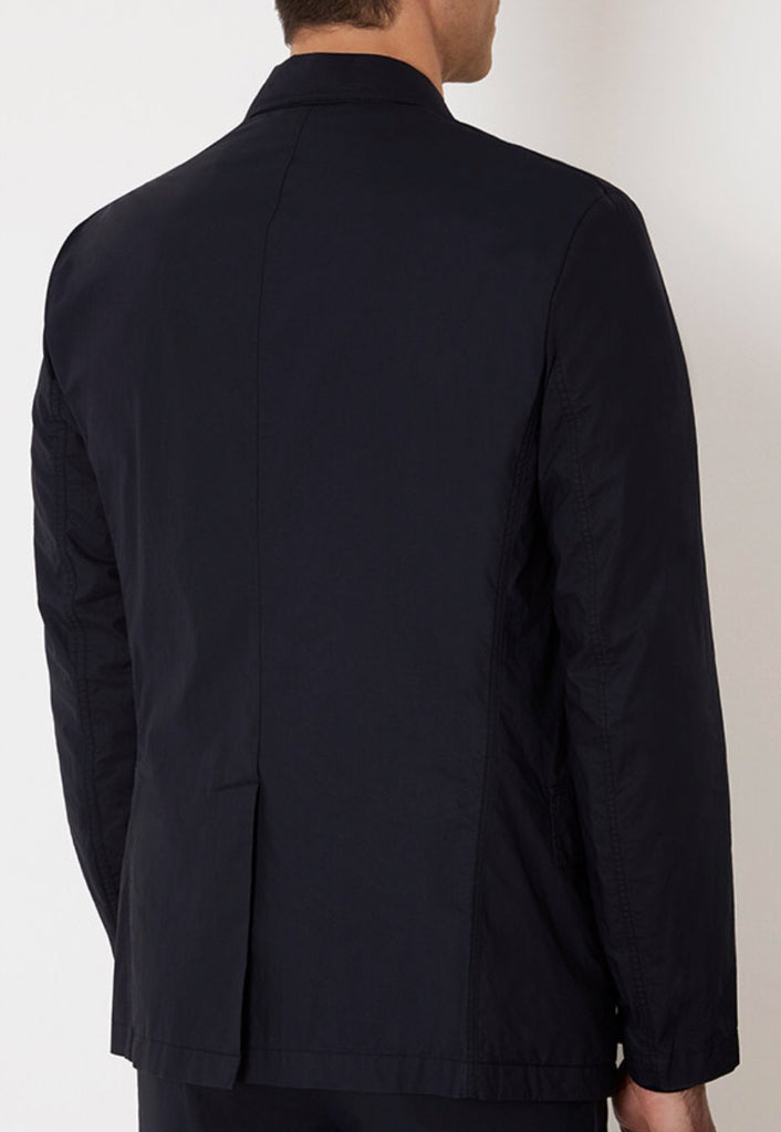 Travel Jacket in Coated Cotton