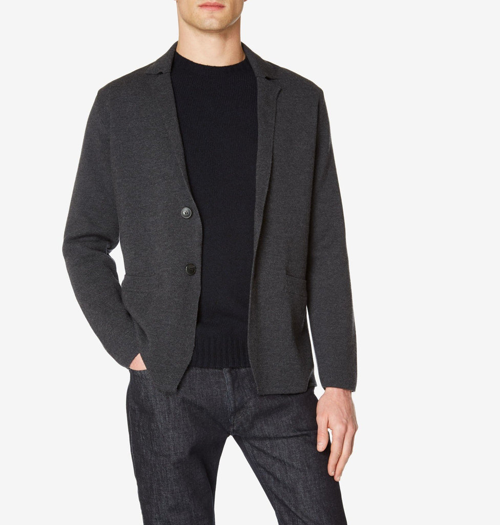 Regular Fit Merino Wool Milano Blazer