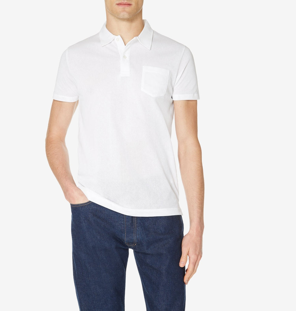 Short Sleeve Cotton Riviera Polo Shirt