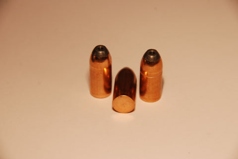 .357 Caliber 220 Grain Jacketed Round Nose HP bullets