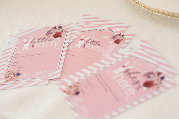 Little Lady stationery by Little Dot Company