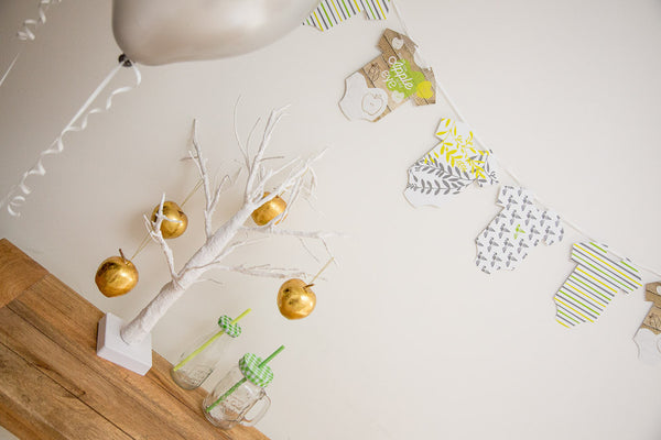 You're the Apple of My Eye bunting by Little Dot Company