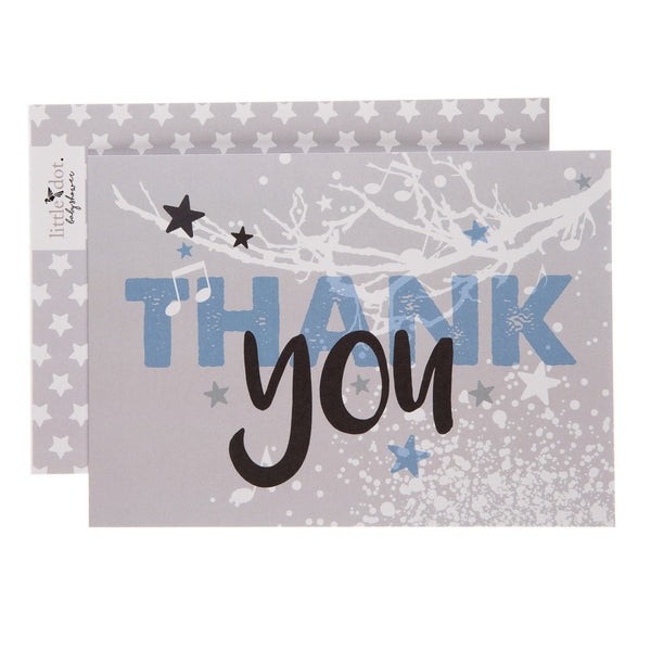 Twinkle Twinkle thank you cards by Little Dot Baby Shower