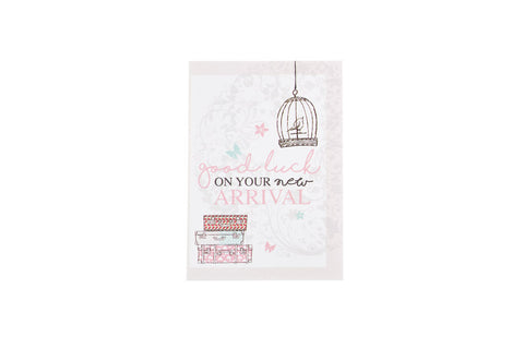 Baby Shower Greeting Card - Good luck