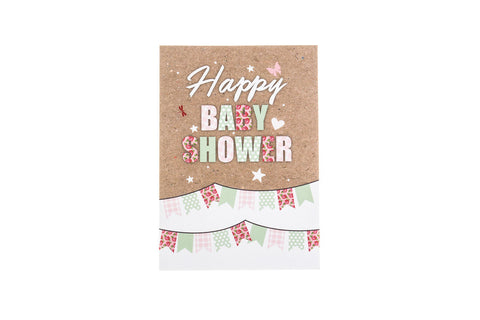 Baby Shower greeting card by Little Dot Baby Shower