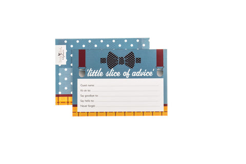 Fantastic Mr Baby - baby shower advice cards by Little Dot Baby Shower