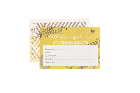 You Are My Sunshine - Little Slice of Advice cards