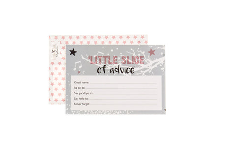 Twinkle Twinkle baby shower advice cards by Little Dot