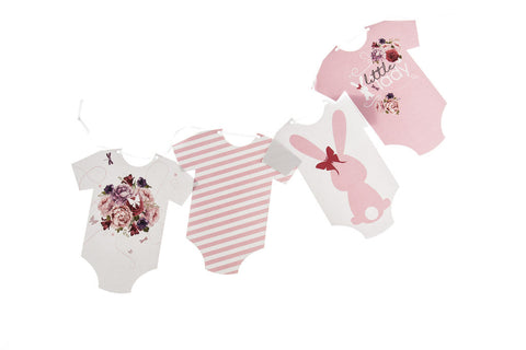 Baby Grow Bunting 'Little Lady' by Little Dot Baby Shower
