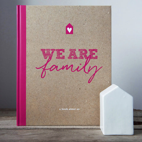 We Are Family Journal sold by Little Dot Baby Shower