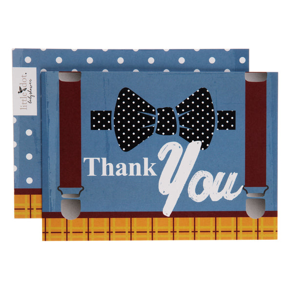 Little Dot Baby Shower thank you cards Fantastic Mr Baby