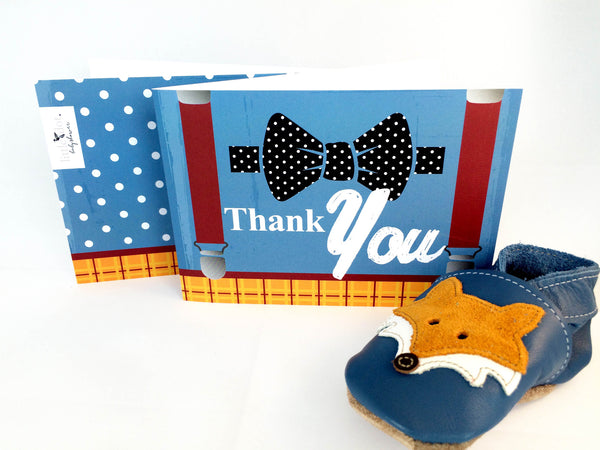 Thank you cards by Little Dot - Fantastic Mr Baby