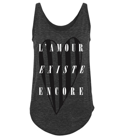 L'Amour Existe Encore Sleeveless T-shirt (Women)