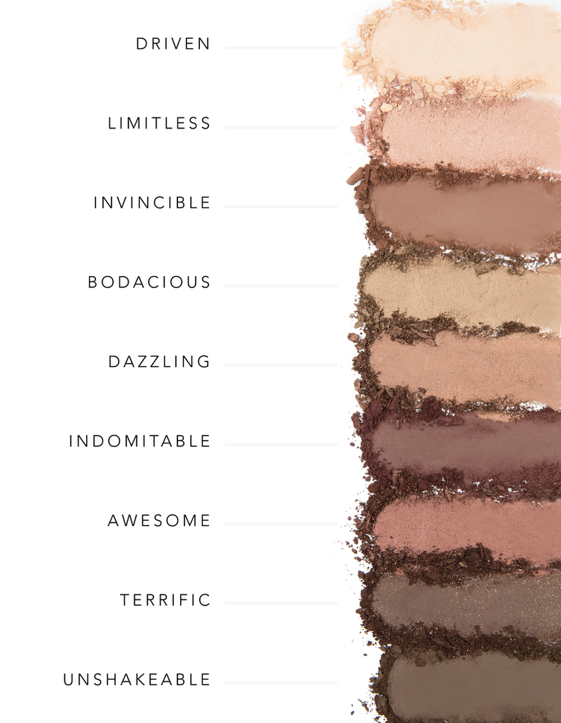 """DO YOUR SQUATS"" EYESHADOW PALETTE II"