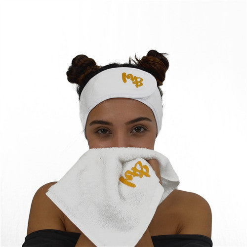 MUDDY TOWEL AND HEAD WRAP SET - Daría