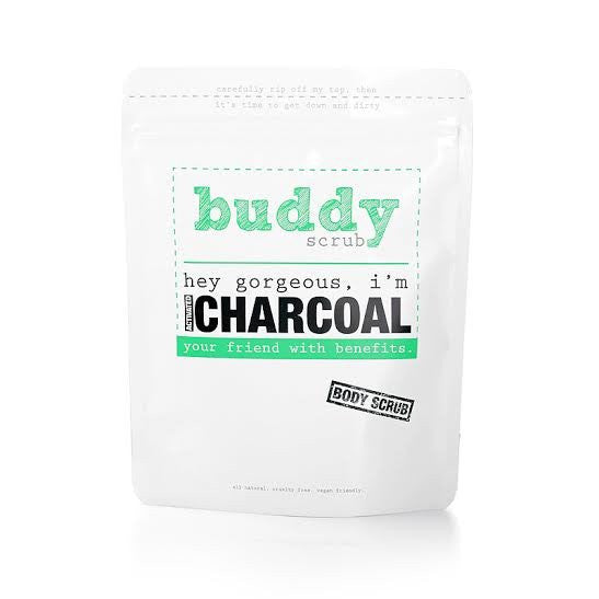 Activated Charcoal Body Scrub