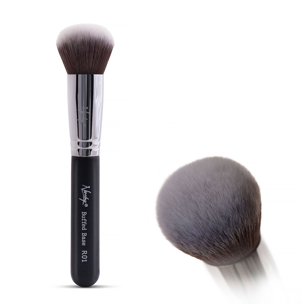 Gobsmack Glamorous Onyx Black | Face Makeup Brush Set - Daría