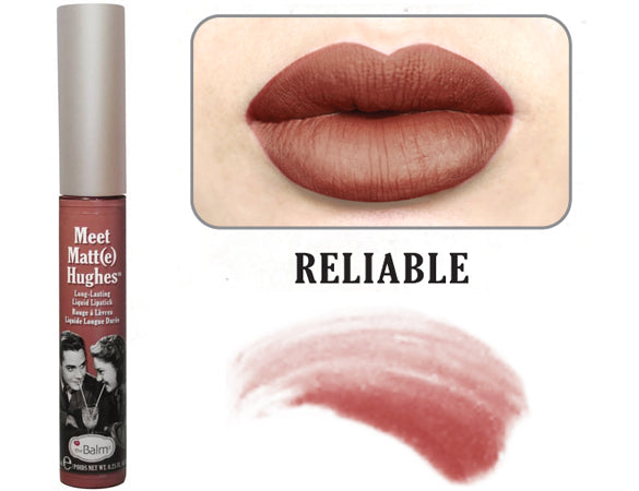 Meet Matt(e) Hughes® Long Lasting Liquid Lipstick