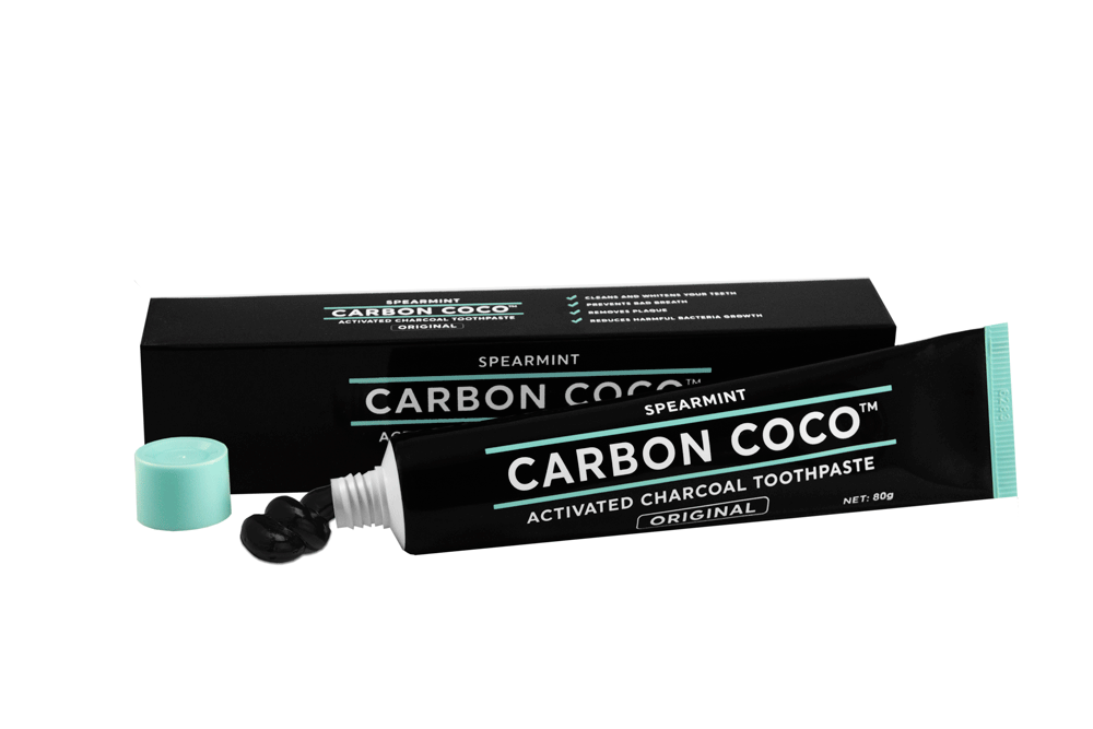 ACTIVATED CHARCOAL TOOTHPASTE FLUORIDE FREE