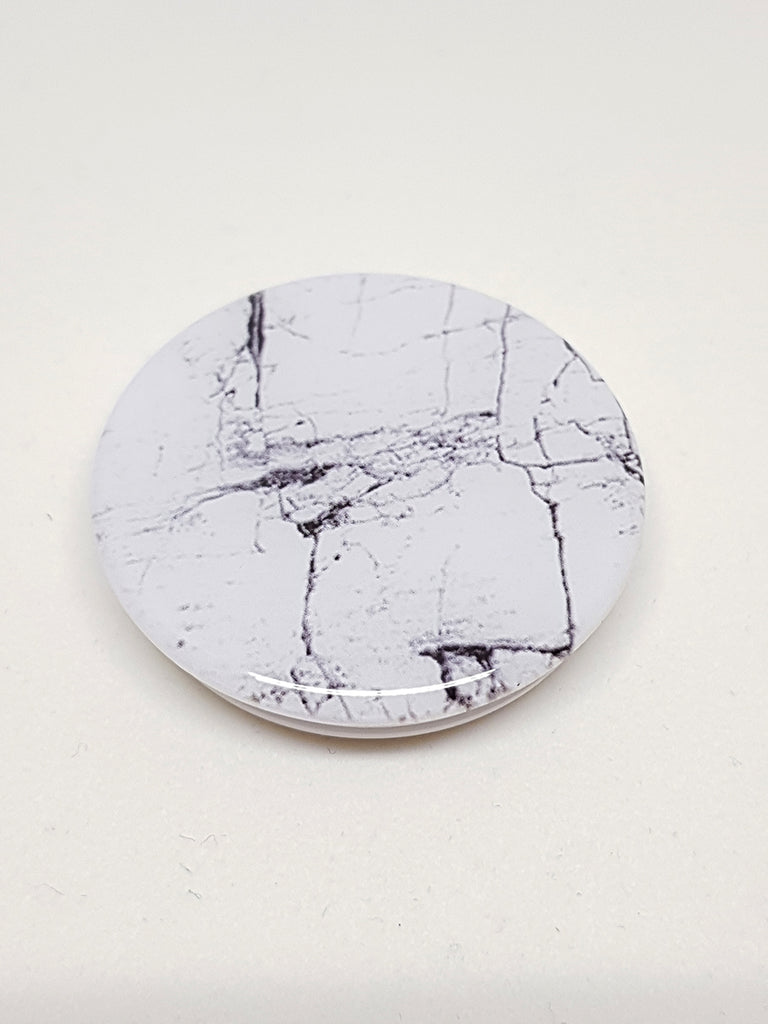 3D Pop Socket Marble White - Daría