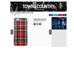 Town & Country Magazine - Minnie & Emma Personalized Phone Cases