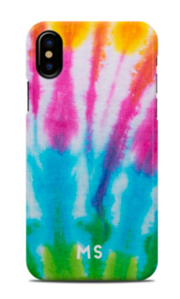Rainbow Tie Dye Phone Case