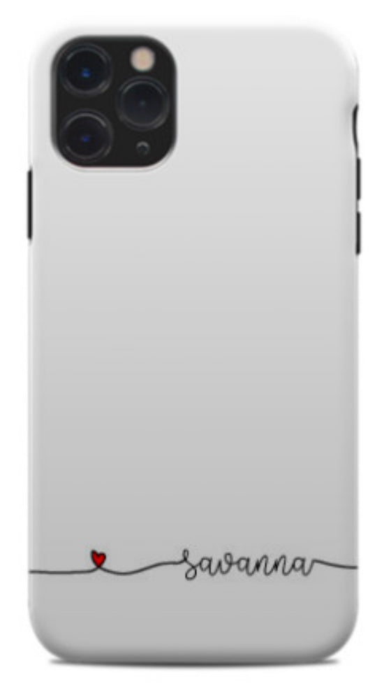 Love Lines Phone Case