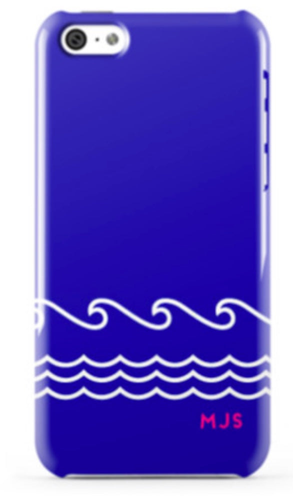 Blue Waves Phone Case