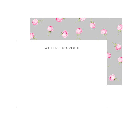 English Rose Deluxe Triple Thick Stationery