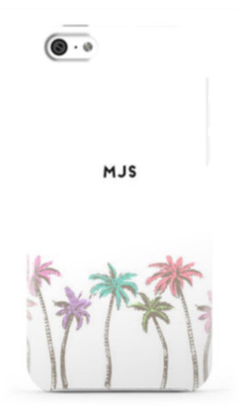Sunkissed Palms Phone Case