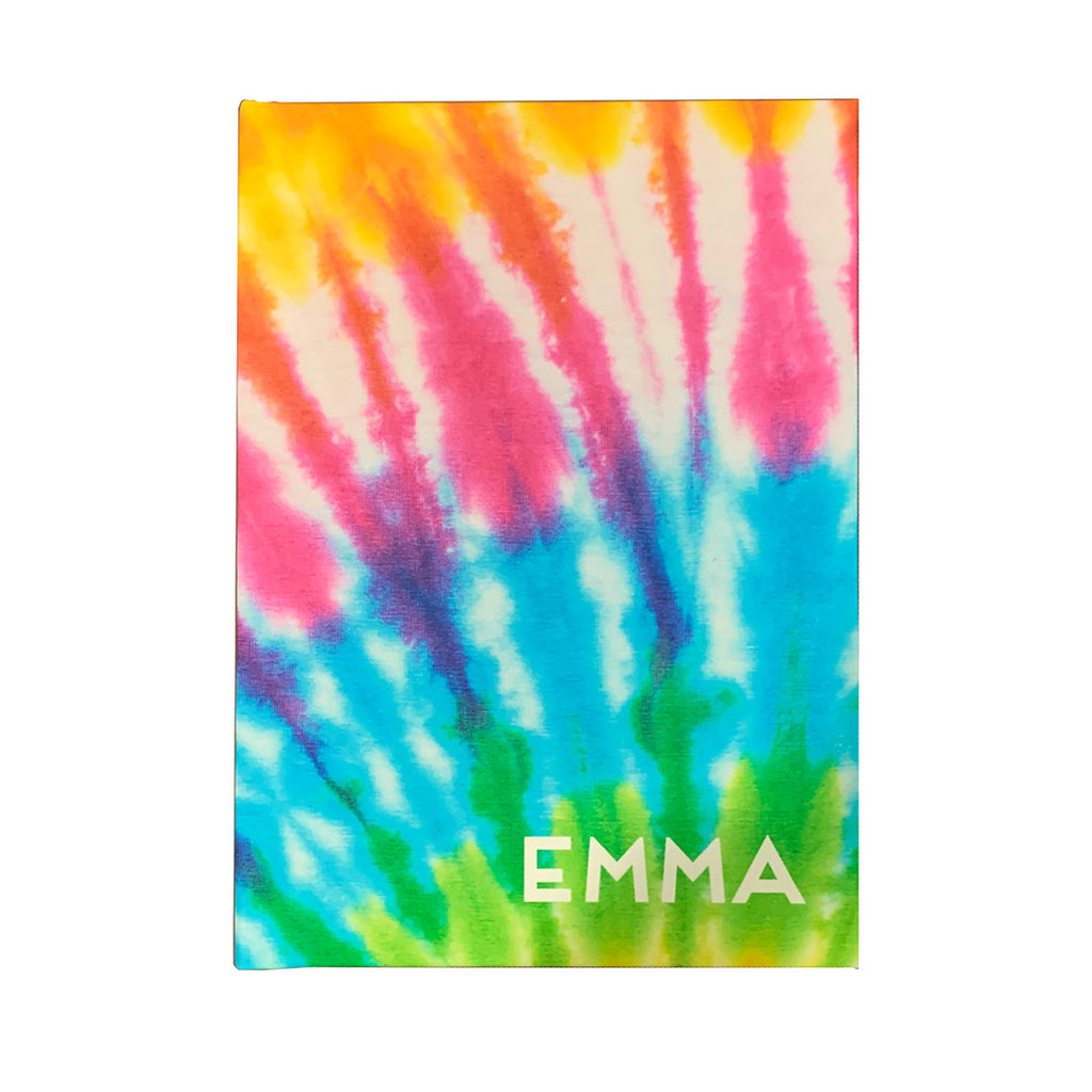 Rainbow Tie Dye Hard Bound Notebook