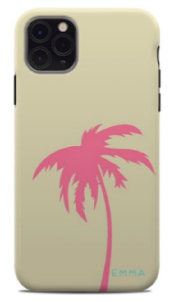 Single Palm Tree Phone Case