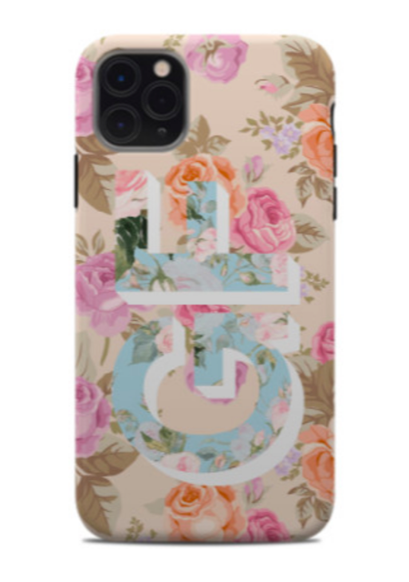 Double Floral Phone Case
