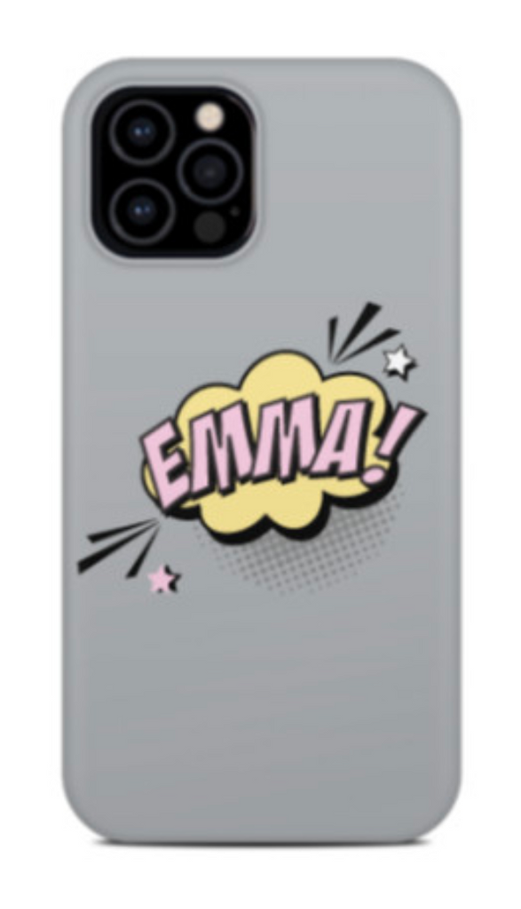 Bubble Name Phone Case