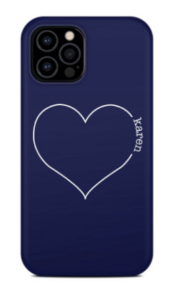 love letter (heart name) phone case