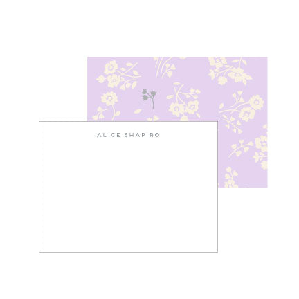 Wildflower Deluxe Triple Thick Note Cards