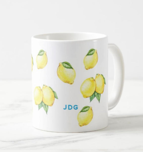 All Over Lemons - Coffee Mug