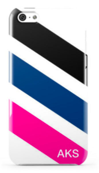 Diagonal Stripe Phone Case