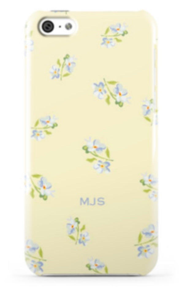 Ditsy Floral Citrine Phone Case