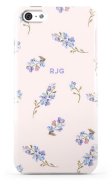 Garden Party Blush Phone Case