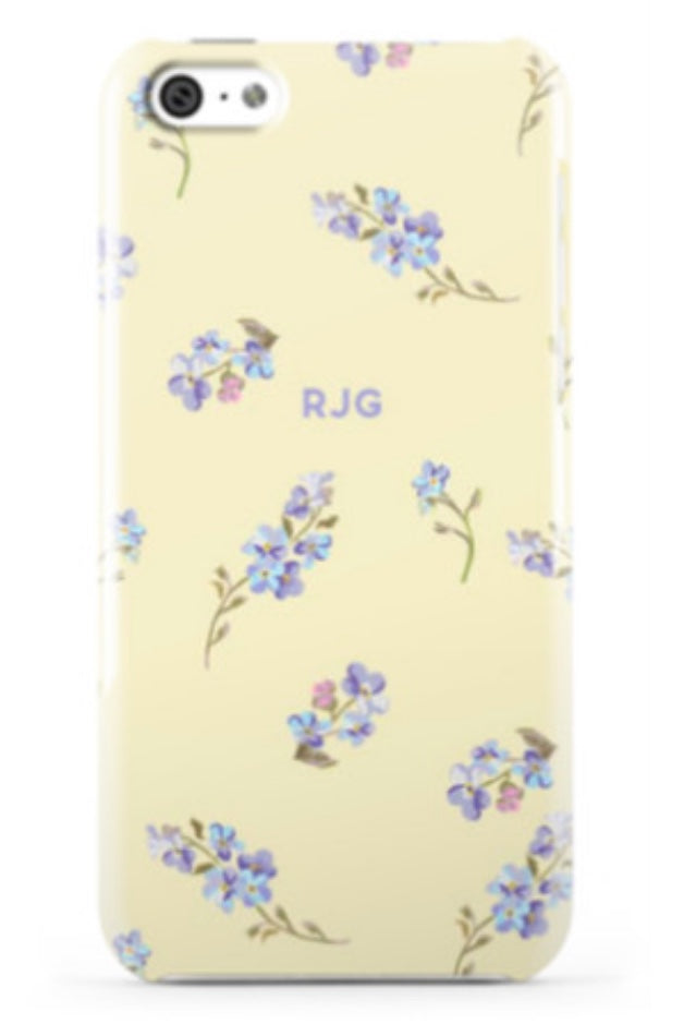 Garden Party Citrine Phone Case