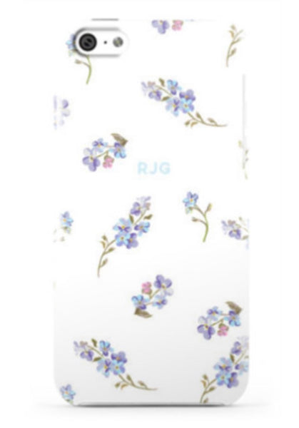 Garden Party White Phone Case